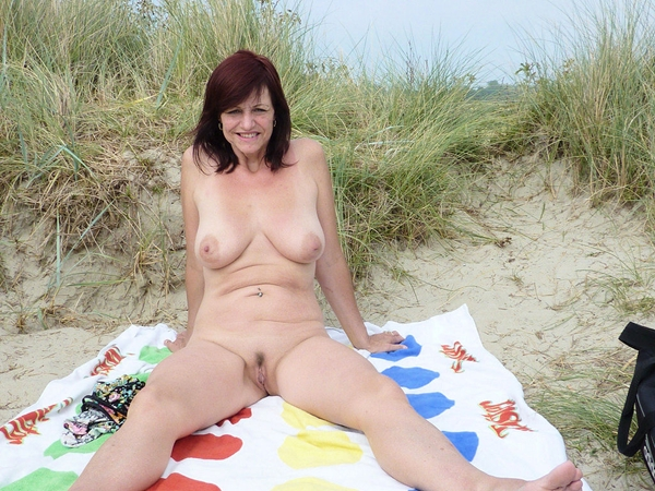 Outdoors Amateur Mature Outdoor