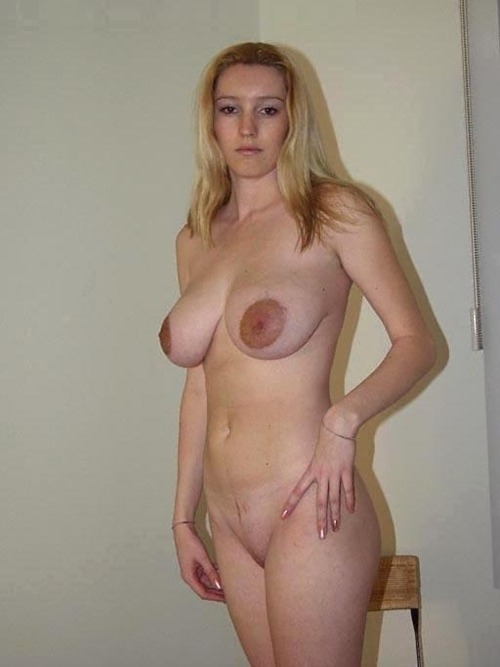 Large Amateur Areolas Big Tits Blonde