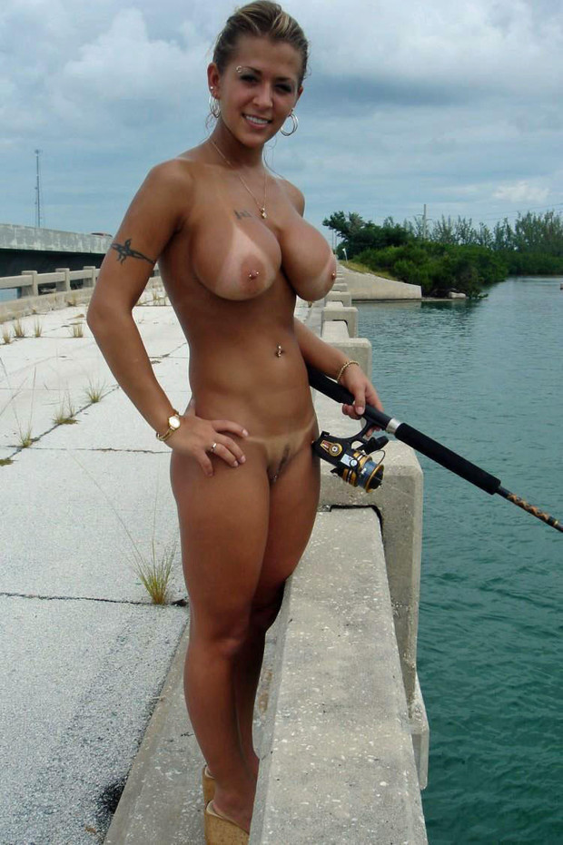 Damn She Can Fish With Me Amateur Big Tits Brute Hot Mature Milf