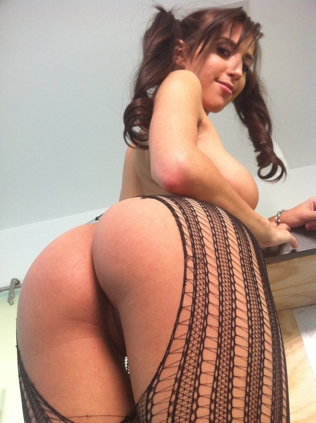 big ass brunette