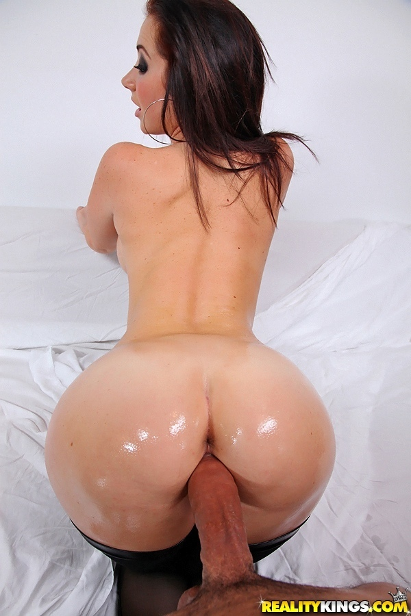 Brunette with big ass