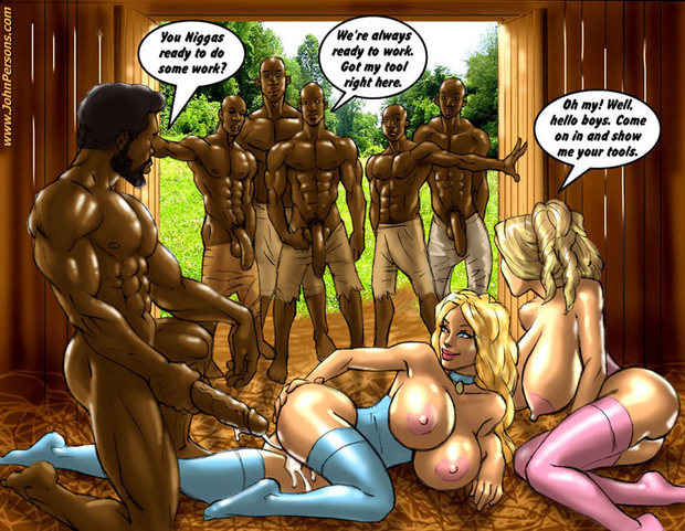 The plantation - John Persons Interracial & Taboo Art (johnpersons); Big Dick Big Tits Blonde Gang Bang Group Sex Hentai Interracial
