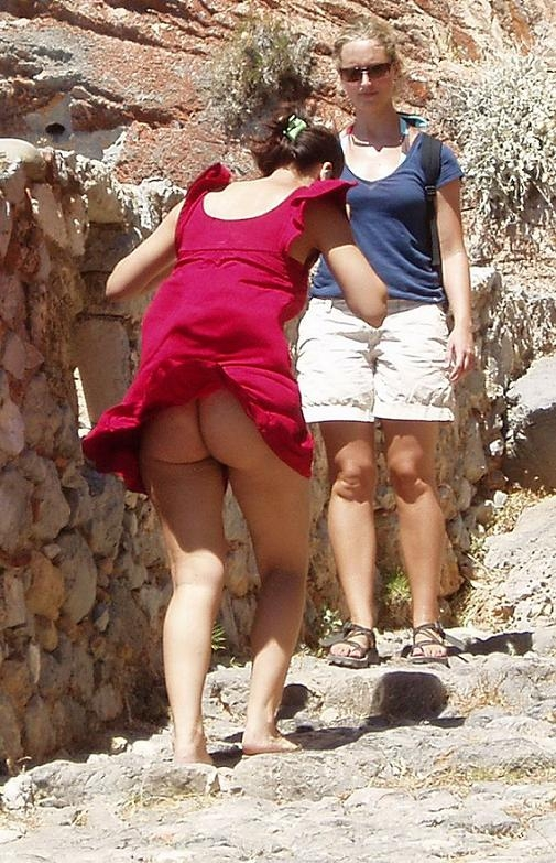 Underwear Upskirt News Lady Upskirt; Amateur Public