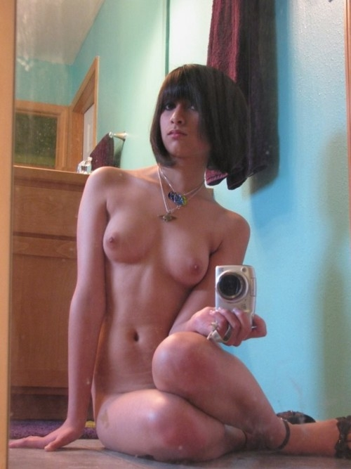 naked selfshot; Amateur Babe Teen Hot College