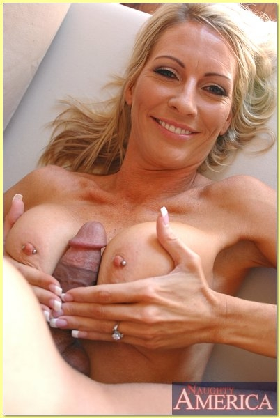 Blond big tits sex