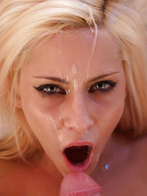 Facial Porn Videos - Teen Faces get Covered in Hot Cum