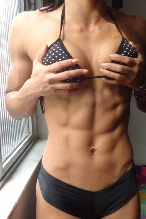six pack athletic female; Athletic