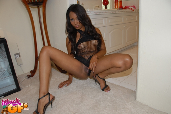 Sexy Black Girlfriend; Amateur Ebony Lingerie Softcore Pussy