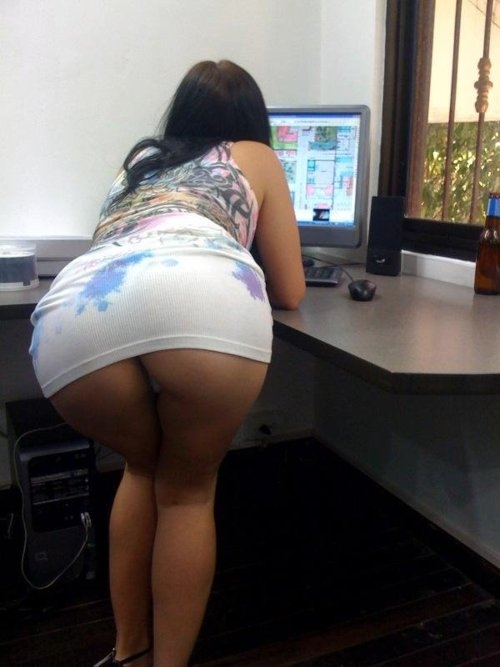 Office Porn; Amateur Ass