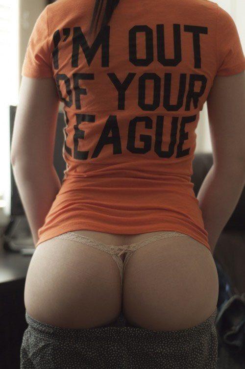...; Amateur Ass Babe Brunette Hot Panties Selfshot