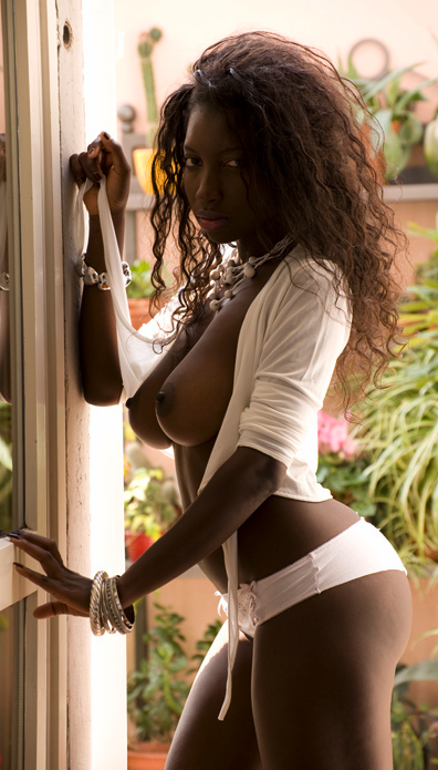 Just Luv The Chocolate Factory; Babe Big Tits Ebony Hot Erotic